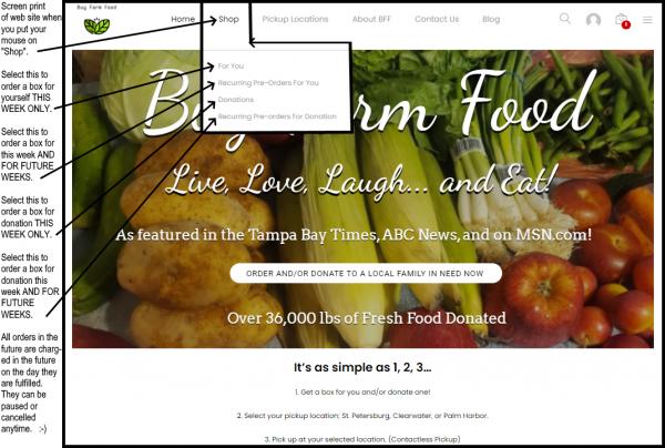 new website farm fresh fruit and vegetables